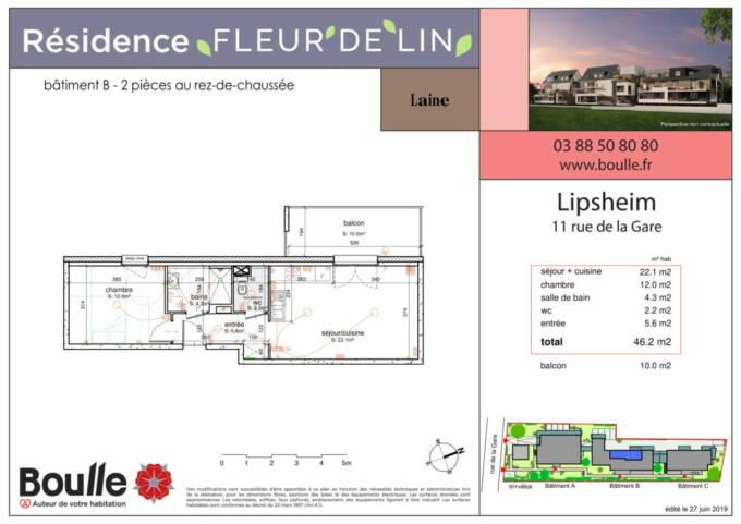 Plan d'appartement