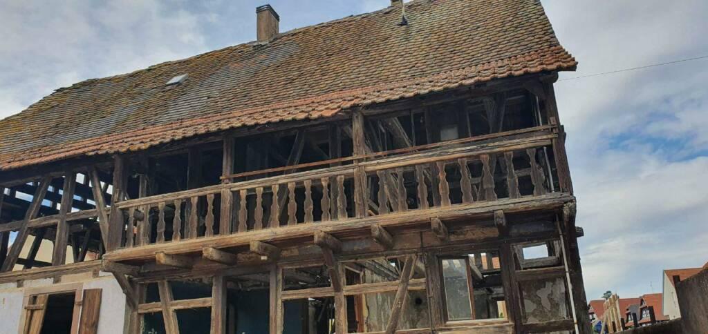 Maison alsacienne typique