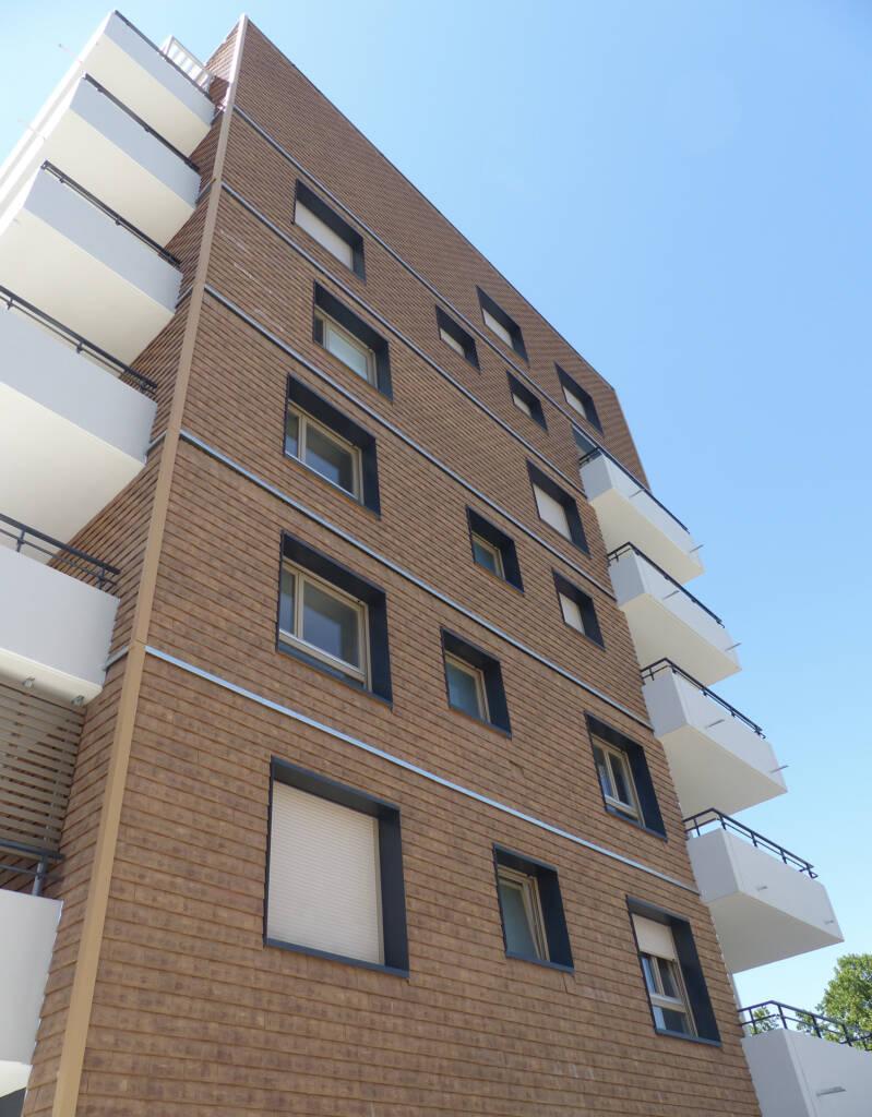Un style de bâtiment unique dans le quartier Danube à Strasbourg