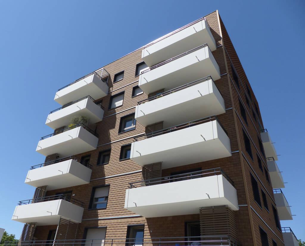 Les terrasses de la résidence Futur Composé